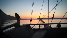 <span>SUNSET CRUISE IN SOUDA BAY</span>